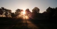 Wschód słońca w Studzienicach