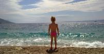 w stronę morza