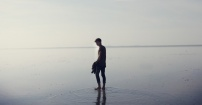 spacer wgłąb morza
