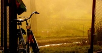 Rowerzysta uciekł