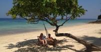 Pod gruszą na Phi Phi