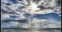 po burzy na plaży