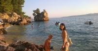 Adriatyk w świetle zachodu słońca