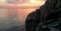 Piękny, norweski zachód słońca:)