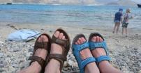 W sandałach przez świat :)