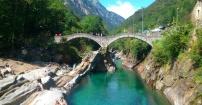Dolina rzeki Verzasca - Szwajcaria