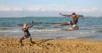 Mortal kombat plażowy :)