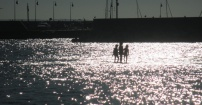 Wieczorny spacer po zatoce