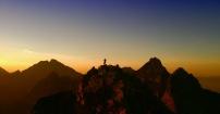 Rysy wschód słońca
