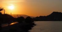 Zachód słońca nad Zakynthos