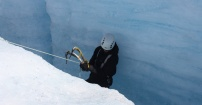 Przejscie przez lodowiec