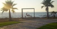 Magiczny zachód Słońca na Cyprze