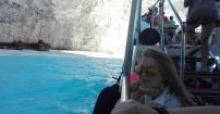 Moje greckie wakacje,Zatoka Wraku :)