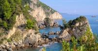 Niedostępne, ale piękne greckie klify