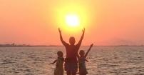 zachód słoneczka w Kos  (Grecja)