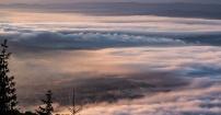 Wschód słońca po nocy Perseidów