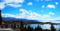 Panorama na Split z Marjan'a