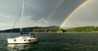Po burzy na jeziorze