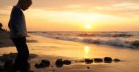 Gąski, wschód słońca