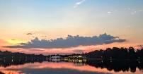 Zachód Słońca W Osieku