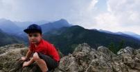Młody zdobywca tatrzańskich szczytów