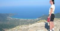 Spojrzenie na Morze Egejskie z góry