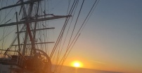 Wschód słońca na Atlantyku!