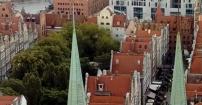Nad dachami pięknego Gdańska
