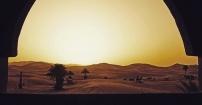 Sahara o poranku.