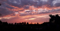 Letnie kolory nieba